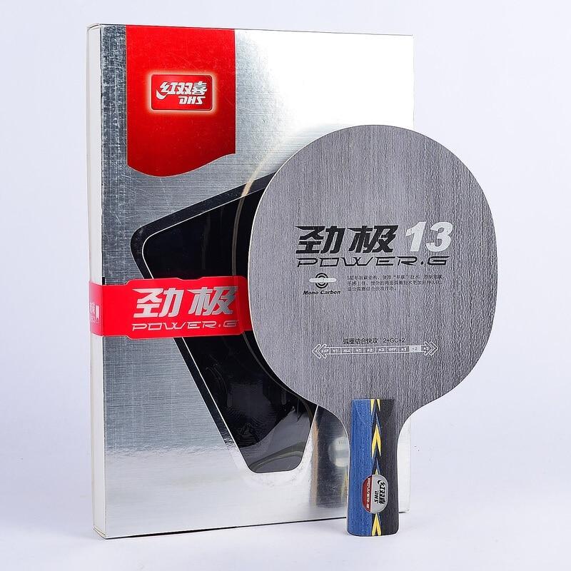 Original DHS Power G13 PG13, PG 13 Single Carbon Table Tennis Blade