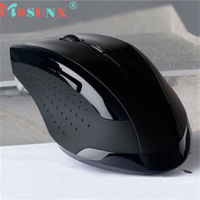 mosunx 6 Button 2.4GHz Wireless Optical Gaming Mouse Mice For Computer PC Laptop Free shipping Jul 4