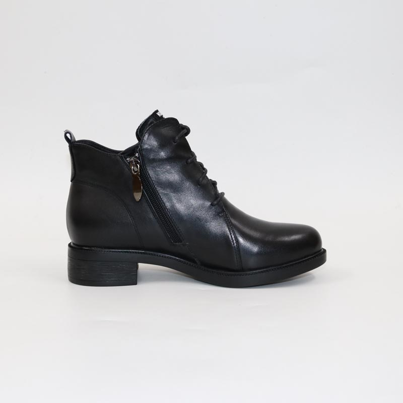 Poney en cuir bottes-in Bottines from Chaussures    3