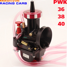 Universal Motorcycle Carburetor PWK 36 38 40 mm Carb For Modify Off Road Motorcycle Scooter UTV ATV Quad Go Kart Dirt MX alconstar universal quad vent carb pwk 33 34 35 36 38 40 42mm pwk38 as s66 38mm air striker for keihin caeburetor