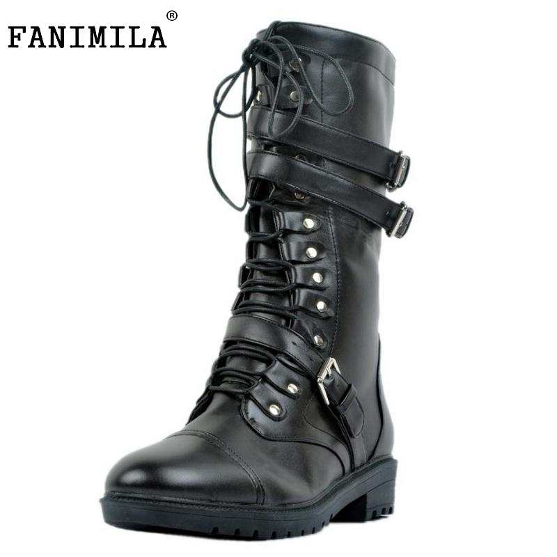 Women Fashion Round Toe Martin Boots Woman Brand New Lace Up Flat Ankle Boot Ladies Buckle Wrap Footwear Shoes Size 34-47 2016 new women sandals bohemia bowknot ankle wrap flat sandals brand fashion ladies footwear shoes large size 34 39