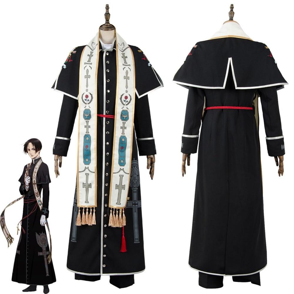 Vatican Kiseki Chousakan Cosplay Hiraga Josef Kou Costume Vatican Miracle Examiner Costume Halloween Christams Costumes