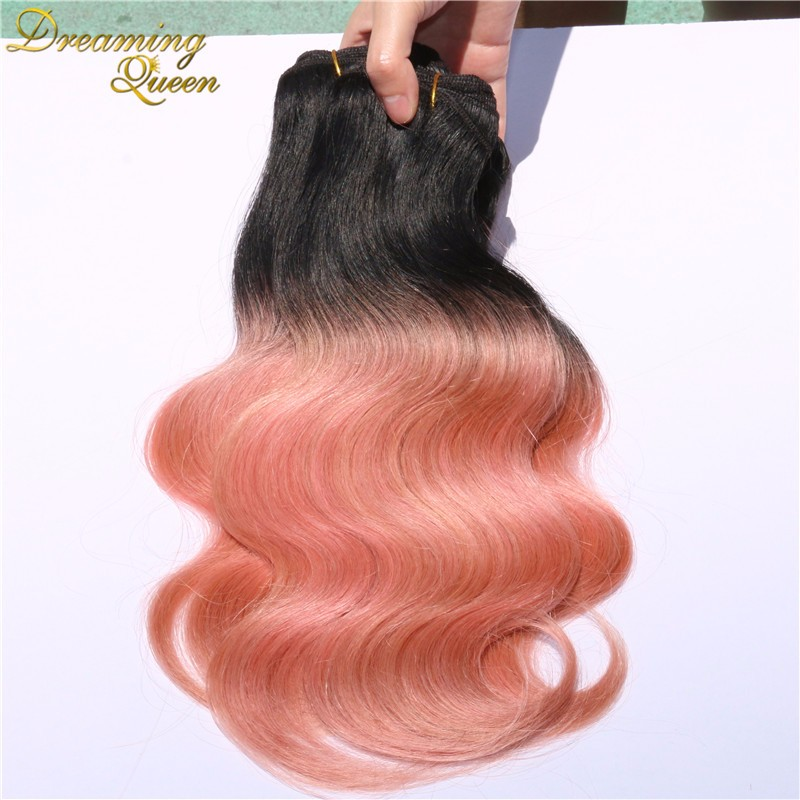 rosegold hair body wave (2)