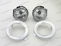 Replacement Fog Lihgts Lamps Covers Kits For Subaru Forester 2011 2013