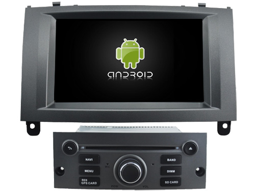 Android 8 0 octa core 4GB RAM car dvd player for PEUGEOT 407 ips touch screen