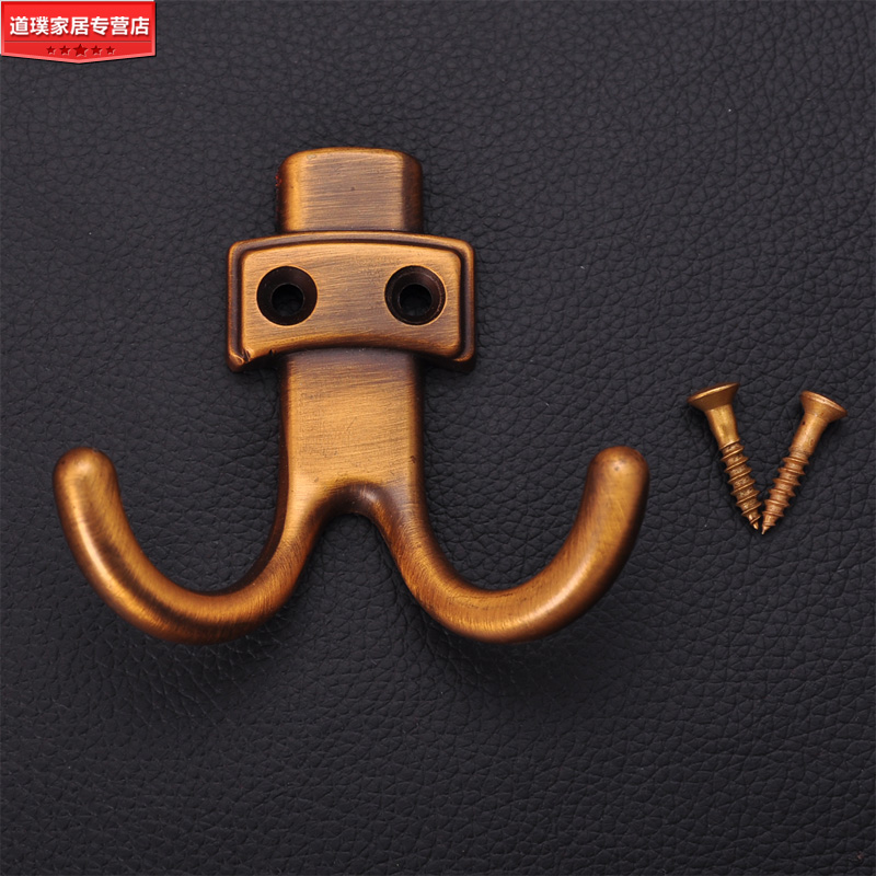 Aliexpress.com : Buy Home fashion solid brass toned hook antique coat hooks  door after the locker single hook slip resistant solid from Reliable coat  scarf ... - Aliexpress.com : Buy Home Fashion Solid Brass Toned Hook Antique