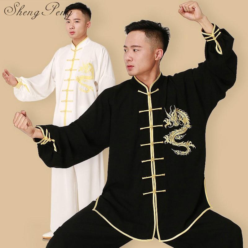 🛒 Uniforme Kung Fu Wushu Clothes Chinese Traditional Men