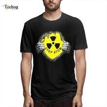 Stalker Chernobyl Power Station Explosion Camiseta Hipster Men Crazy Streetwear O-neck Tee For Male