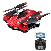 2.4GHz Drone Hover Headless Mode 3D Flips Intelligent Durable LED Lighting One Key Landing WiFi FPV Real-Time Aircraft Premium