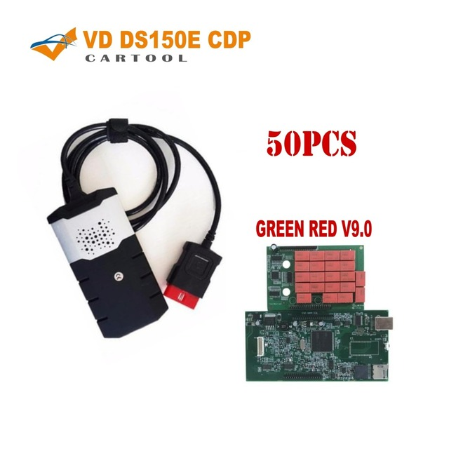 US $1375 0 |VD Tcs Cdp pro V9 0 green red nec relay with Bluetooth for  delphis vd ds150e cdp car truck obd diagnostic tool by dhl 50pcs -in Car
