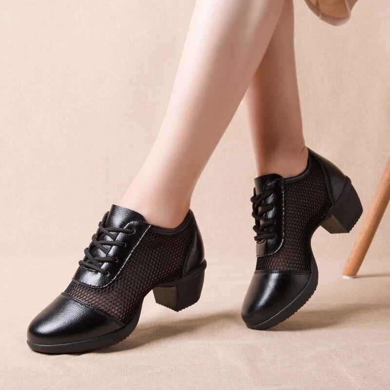 MWY Moderne Tanzen Schuhe Weichen Boden Tanz Schuhe Frauen Social Platz Tanzen Schuhe Zapatos De Baile Hohe Ferse Dame Latin dance