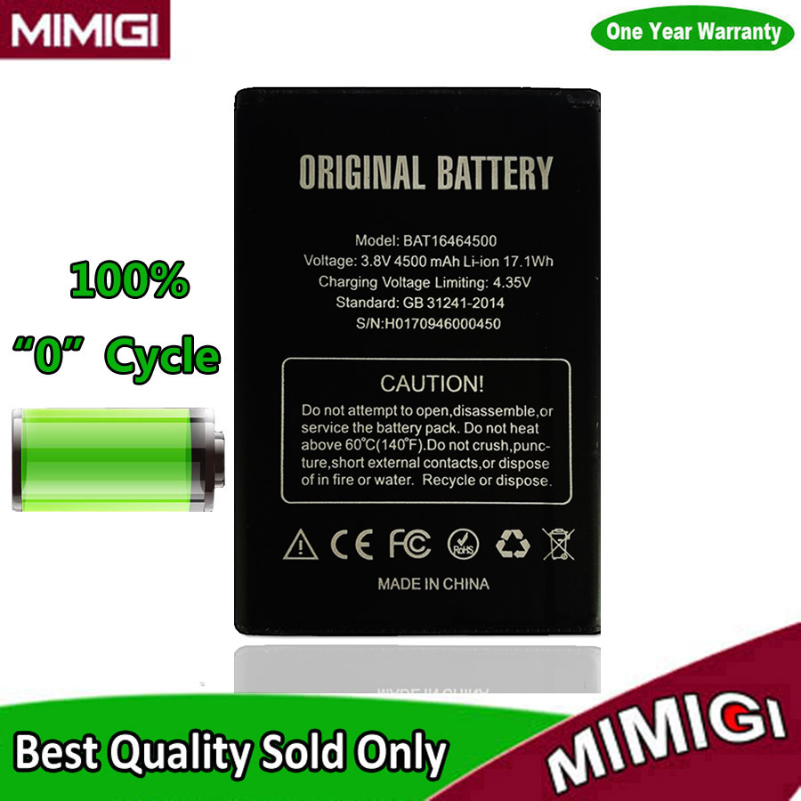 100PCS/Lot 4500mAh <font><b>Smartphone</b></font> Battery For Doogee T5 Lite Batterie De batterij AKKU Accu AKU via <font><b>DHL</b></font> UPS Fedex Cargo Etc.