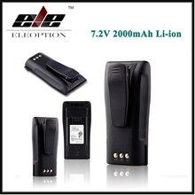 Eleoption Nouvelle 7.2 V 2000 mAh 2.0Ah Li-ion Batterie pour MOTOROLA NNTN4496 NNTN4851 NNTN4851R CP040 CP140