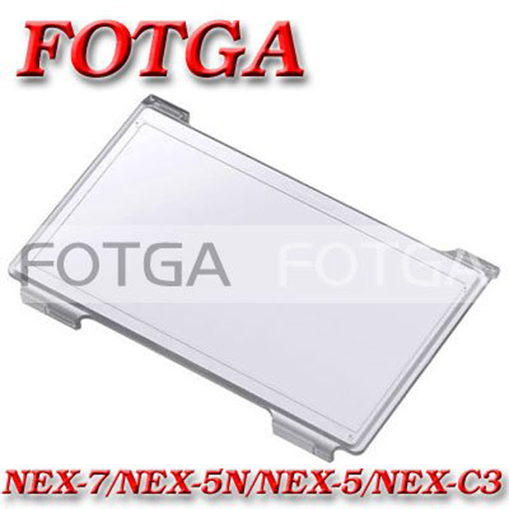 Fotga LCD Monitor Hood Hard Cover Screen Protector For Sony NEX-3 NEX-5 NEX-5C NEX-5N