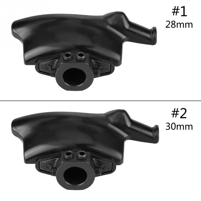 Black Tire Changer Machine Plastic Nylon Mount Demount Duck Head Diameter 28mm 30mm Plastic nylon Balck Color Car Repair Tool