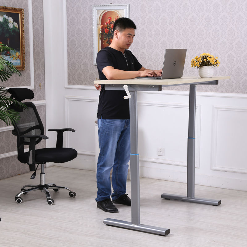 standing office table. 2015 New Fashion Office Adjustable Computer Desk Standing Table Laptop School China-in Desks From Furniture On Aliexpress.com D