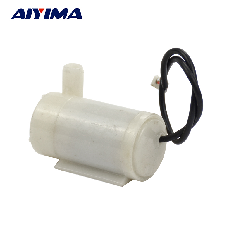 Aiyima Mute Submersible Pump Water Pump DC 3V 5V for PC Cooling Water Circulation DIY dip 14 4 096m 4 096mhz 3 3v 5v