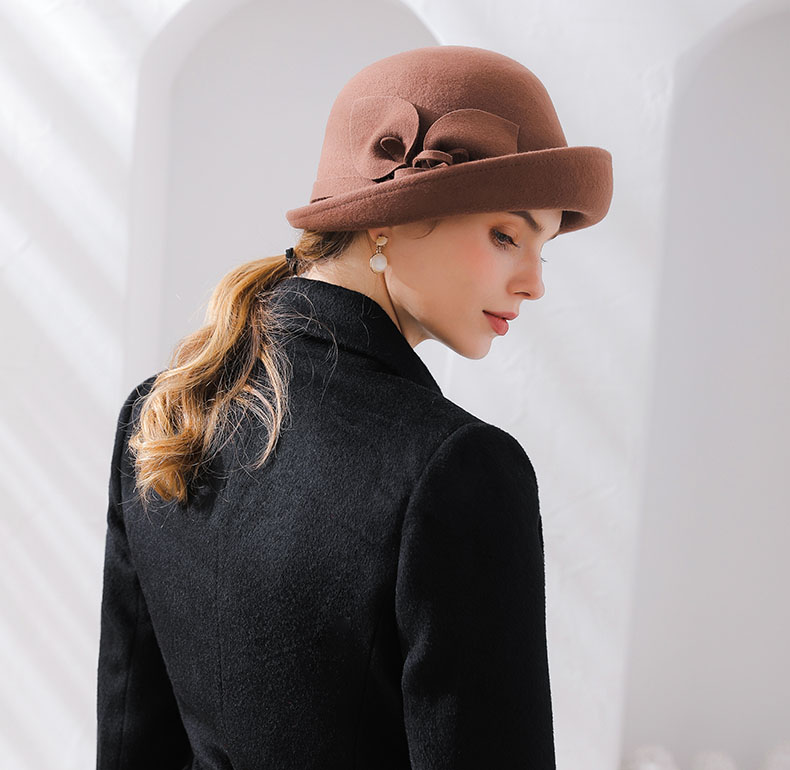 brown hat for women