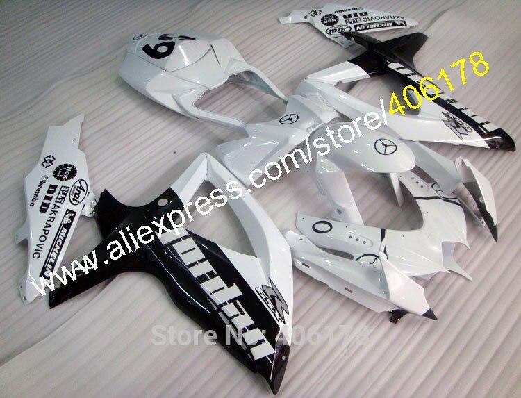 Горячие продаж,для Suzuki Обтекатели GSXR 600 750 2008 2009 2010 с k8 GSXR600 GSXR750 08 09 10 Иорданию обтекатель комплект (литье под давлением)