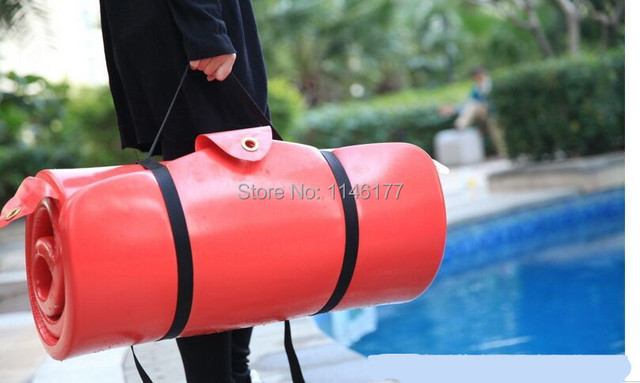 Red Swimming Beanbag Bed Outdoor Hot Spring Water Floating Bed Water Bed Floating Bed Surf Factory Outlets