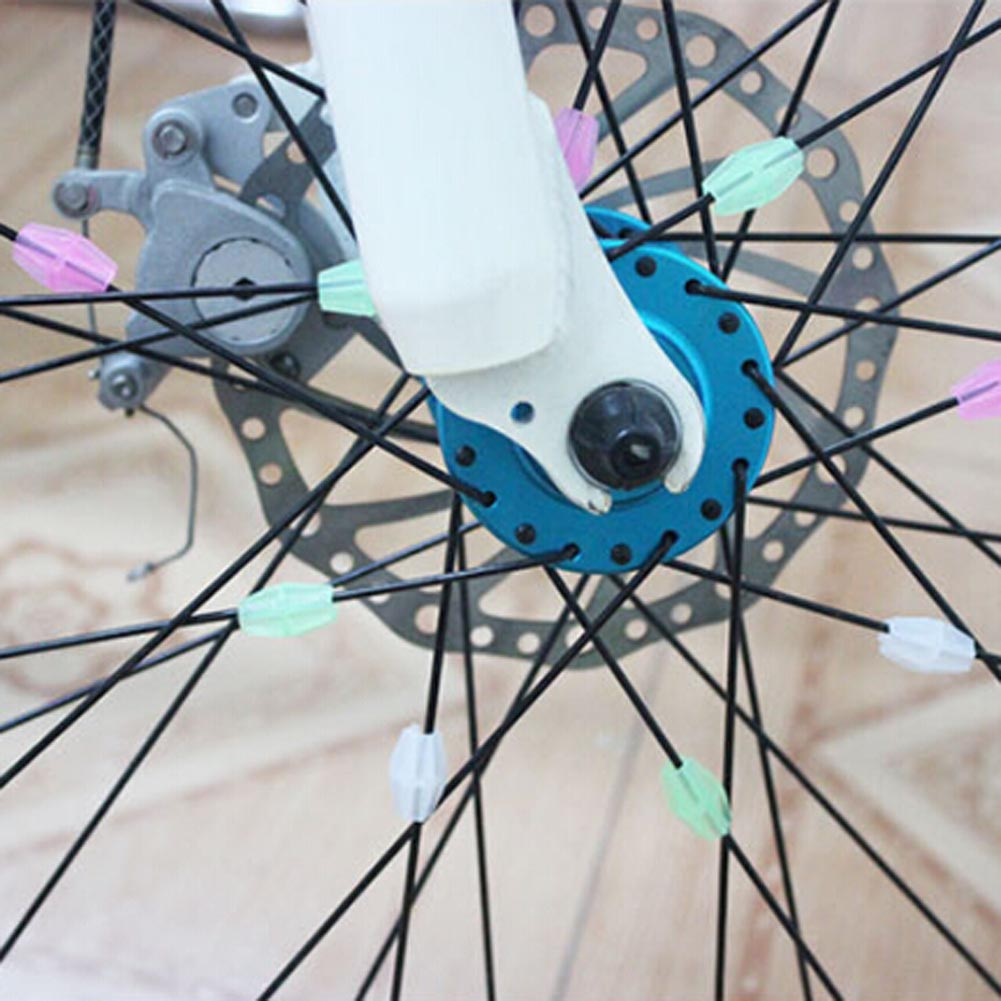 DIY Bicycle Wheel Wire Colorful Spoke Bead Children Colored Beads Ornaments US