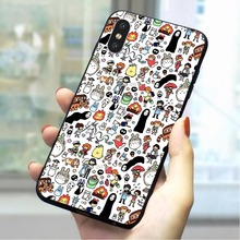 Spirited Away No Face Soft TPU Cover for iPhone 6S Fashion Phone Case for iPhone 6S Plus 7 8 X Xs Max XR 5 5S SE 6 Silicone цена и фото