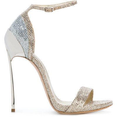 2018 Summer Hot Selling Ankle Strap Open Toe High Heel Shoes Super High Glitter Embellished Thin Heels Sandal Woman Heels new hot selling glitter embellished high heel shoes 2018 sexy pointed toe ankle strap woman pumps crystal wedding heels