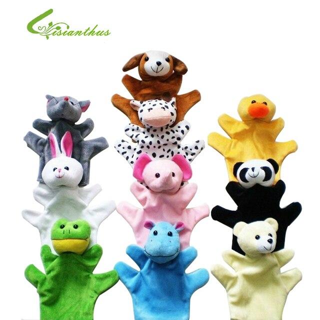 Lucu Ukuran Besar Hewan Sarung Tangan Boneka Boneka Mewah Mainan Anak Bayi  Kebun Binatang Hewan Sarung 4af9ede463