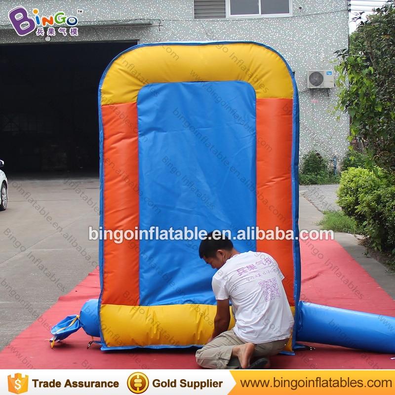 Прочный 1,3x2,5x2 м надувная площадка для бейсбола, метания типа карнавальных игр для взрослых и детей, игрушка для стрельбы, вышибатель, бесплатная доставка - 6