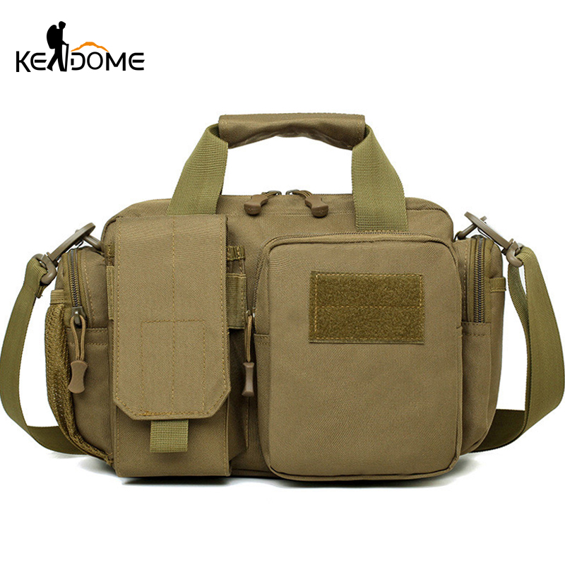 New Nylon Molle Military Crossbody Bags Tactical Shoulder Bag Sport Waterproof  Army Handbags Camping Outdoor Chest Bag XA188WD