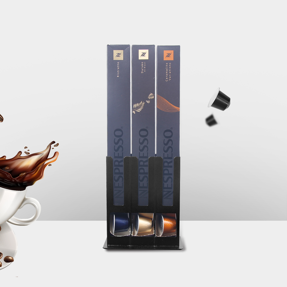 Recaps Coffee Pod Capsule Holder Storage Dispenser Stand Organizer Tool For 30pcs Nespresso Capsules Pods