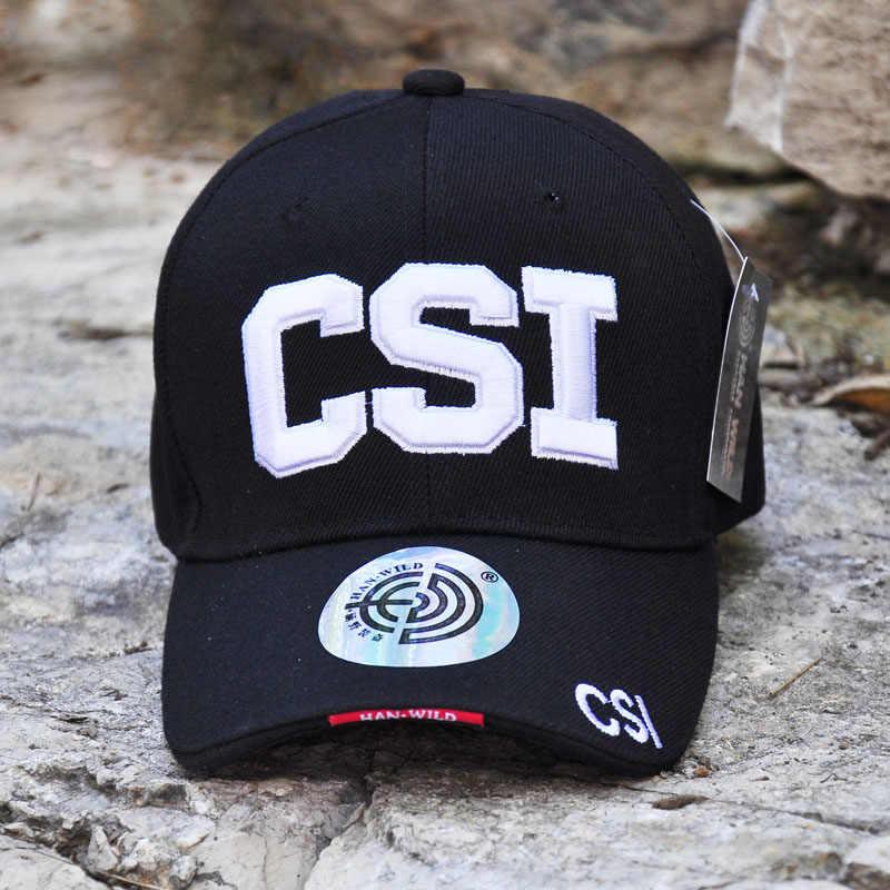 df6fd0e362f Cotton Cap Tactical Baseball Cap Special Forces CSI Snapback Hat Men Women  Summer Cap Hip Hop