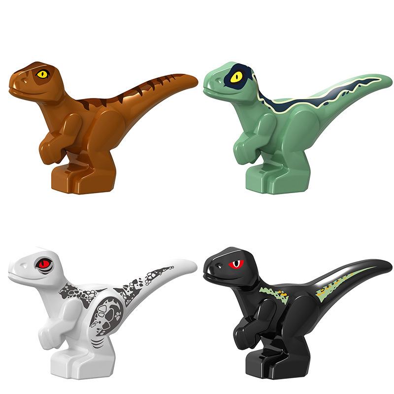 Creator Jurassic Dinosaur World Park Baby Figures Carnotaurus T Rex Dinosaur Carnotaurus Tyrannosaurs Creators Blocks Toy Animal