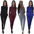Goodly Free Shipping Special design 2016 popular full sleeve long rompers elegant sexy rompers ladies casual rompers