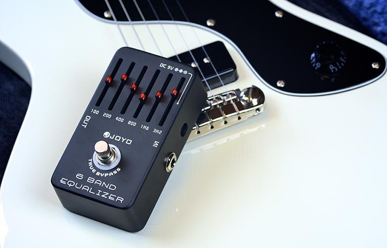Joyo JF-11 pédale d'effet guitare EQ 6 bandes avec étui à pédale gratuit