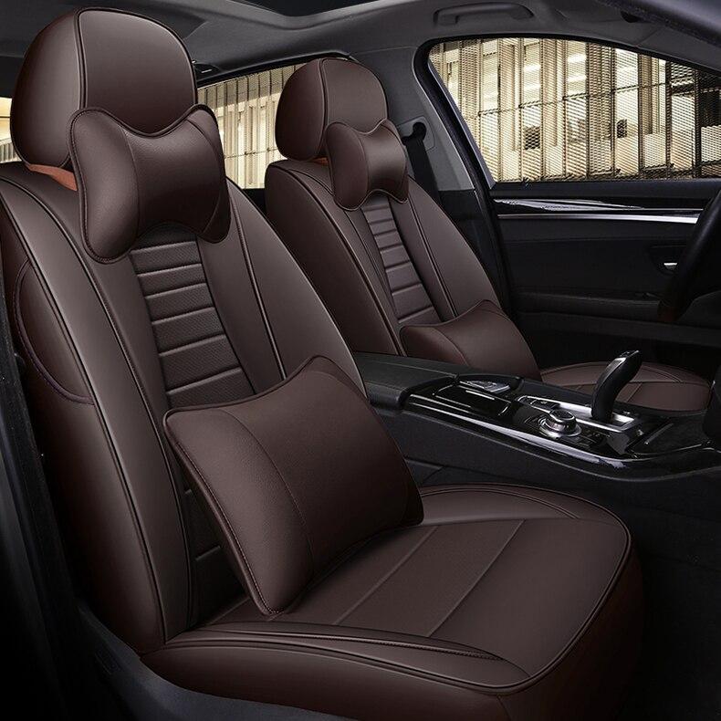 Housse de siège de voiture en peau de vache personnalisée pour Dodge Challenger Avenger calibre cool bo chargeur Auto siège Supports accessoires de voiture style