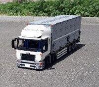 Шт. 4380 шт. Новый Lepins технической серии MOC крыло кузов грузовика Набор Развивающие Building Block кирпичи цифры детей игрушечные лошадки подарок