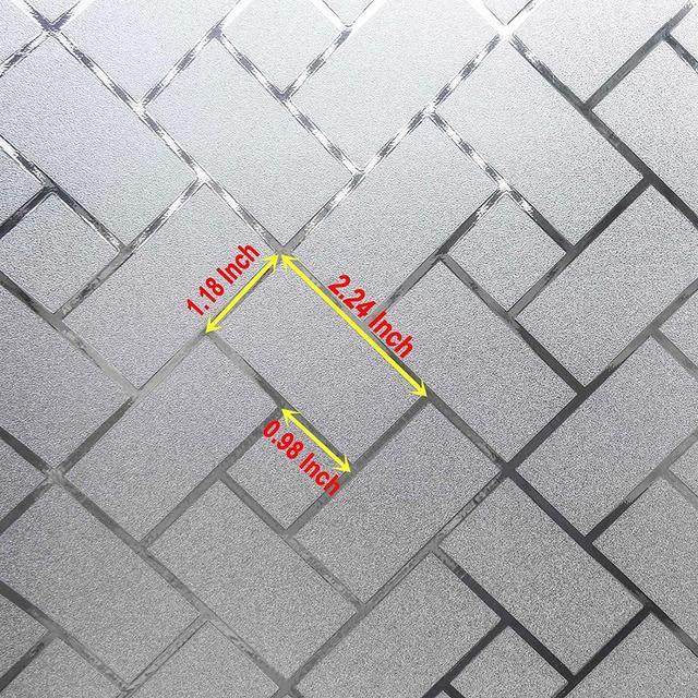 Window Covering Film Frosted Static Privacy Decoration Self Adhesive for UV Blocking Heat Control Glass Window Stickers 2