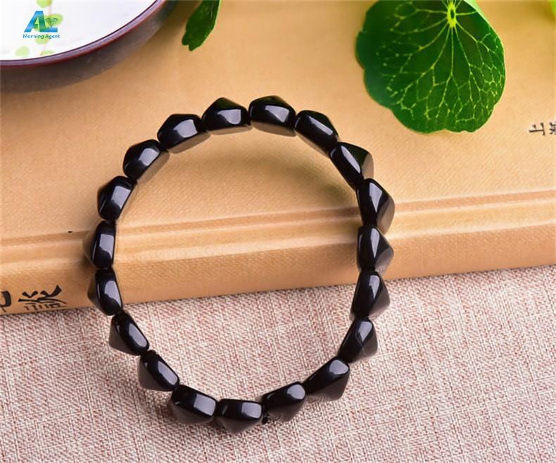 women obsidian bracelet (4)