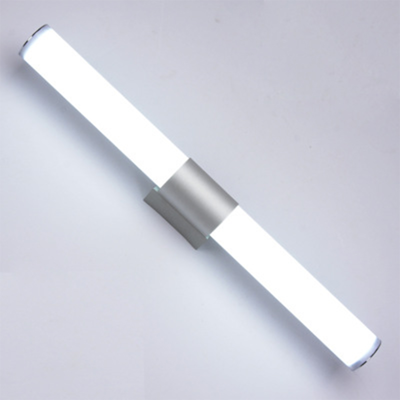 Modern Bathroom Vanity LED Light Acrylic Front Mirror Toilet Wall Lamp Fixture 25cm-12W/40cm-16W/55cm-22W AC 85-265V White Light 12w 16w 22w modern minimalist led metal wall lamp bedside lamp corridor aisle mirror bathroom light white