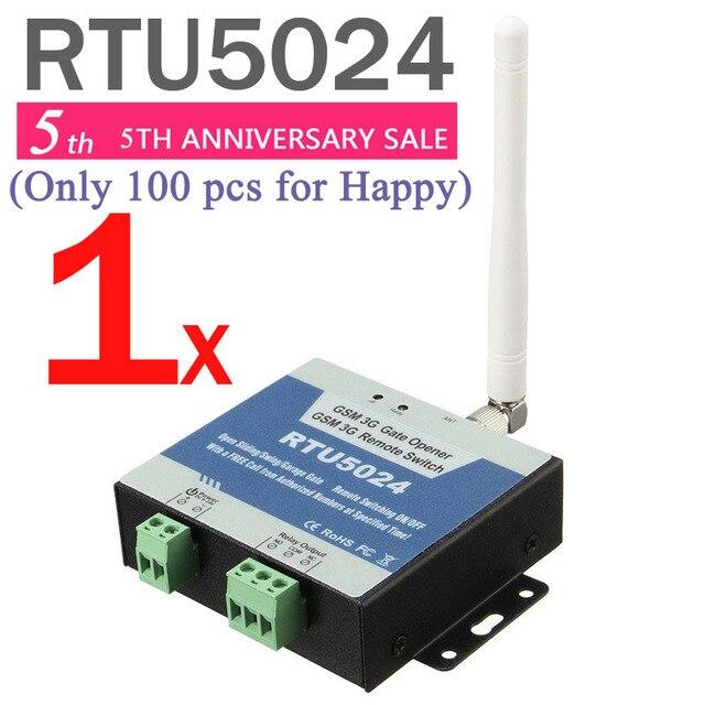 RTU5024 gsmゲートオープナーリレースイッチリモートアクセス制御通話によるiphoneとandroidアプリのサポート