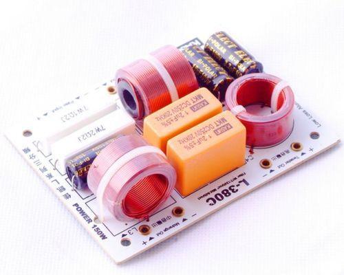 2 шт. Регулируемая частота делителя высоких multi Динамик 3 единицы Hi-Fi аудио делитель частоты 3 Way кроссовер 200 Вт