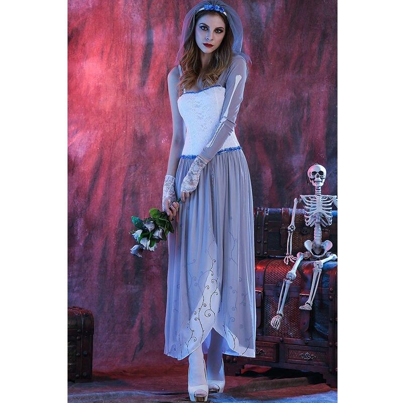 Dorable Vestidos De Novia Con Temas De Halloween Ornamento - Vestido ...