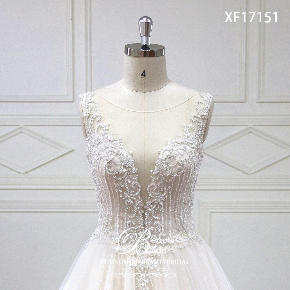 Eslieb High-end specialtillverkade Deep V Bridal Boho - Bröllopsklänningar - Foto 4