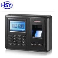 Teclado de Controle de Acesso Biométrico de impressão digital Leitor Autônomo e Sistema Do Comparecimento Do Tempo RFID em Cartão Keytag