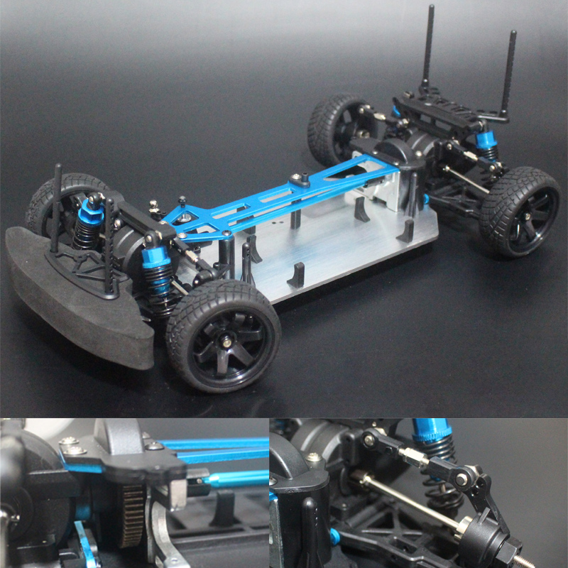 Chassis upgrade version 1 10 RC 4WD Model Car On Road Drift Car Empty Frame Brushless