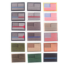The American Flag Patch Embroidered Patches For Clothing Iron On For Close Shoes Bags Badges Embroidery food vegetable patch embroidered patches for clothing iron on for close shoes bags badges embroidery