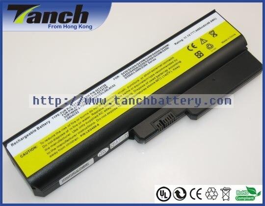 Batterie ordinateur portable pour LENOVO 3000 G430 G530 N500 IdeaPad V460 L08L6C02 L08O6C02 G455 G555 42T4729 L08N6Y02 11.1 V 6 cellules