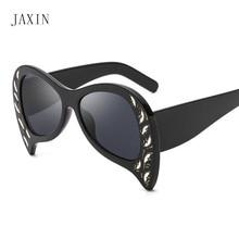 JAXIN Fashion butterfly Sunglasses Women personality trend brand design Sun Glasses lady modern cute wild glasses UV400 oculos