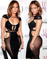 2016 Sexy Jennifer Lopez Celebrity Red Carpet Evening Dresses cheap sex Black Sheer Cutout Backless Prom evening Party Dress
